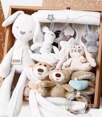 寶寶滿月安撫玩偶禮盒