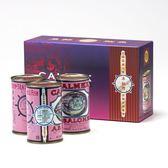 【車輪牌】墨西哥頂級鮑魚罐頭 禮盒3罐裝 (2粒半)