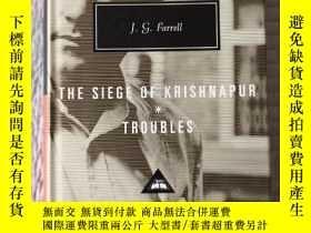 二手書博民逛書店Troubles The罕見Siege of Krishnapur 包圍克裏希納普 J G Farrell eve