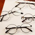 鏡框 女生眼鏡 造型 正韓 東京著 rainbow * 手錶趣*【13312-050】怎麼這麼美-金色限定平光眼鏡