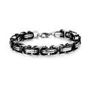 Mao  【5折超值價】【316L西德鈦鋼】最新款時尚潮流歐美風格特色鈦鋼手環