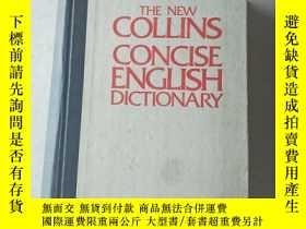 二手書博民逛書店the罕見new collins concise english dictionaryY447092 : W