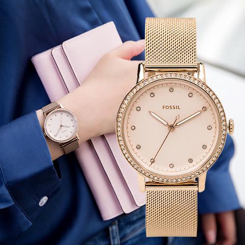 FOSSIL NEELY 晶鑽閃耀米蘭時尚女錶 ES4364 熱賣中!