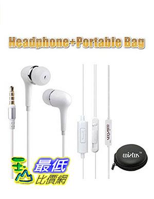 [美國直購] Wietus 760 3.5mm Stereo In-Ear Noise-Isolating Headphones with Mic+ Portable Mini 耳機