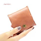 真皮零錢包-日式牛皮耳機包ins小收納包零錢包男女 AngelNaNa (SMA0319)