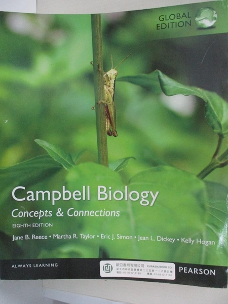 【書寶二手書T3/原文小說_J3N】Campbell Biology-Concepts and Connections, Global Edition_Reece