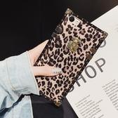 方形豹紋oppoa79手機殼女oppoa75硅膠軟殼oppoa83個性時尚