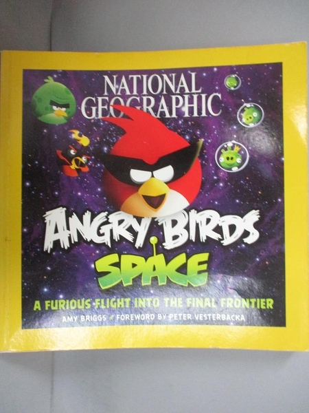 【書寶二手書T1/原文小說_KMT】National Geographic Angry Birds Space-A Furious..._Briggs