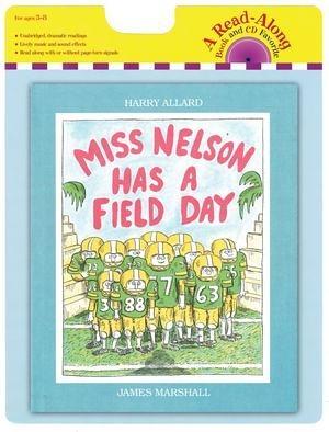 『鬆聽出英語力』-MISS NELSON HAS FIELD DAY/ 書+CD 《主題:幽默》