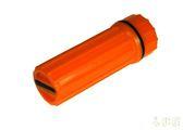 UST 美國 WM防水火柴盒(無火柴) 橘 20-310-009 登山 露營 野外 緊急求生工具 [易遨遊]