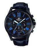 CASIO EDIFICE  計時時尚運動錶 EFV-500BL-1B