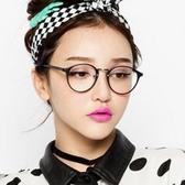 眼鏡框-復古圓框超輕舒適女鏡架4色71t4【巴黎精品】