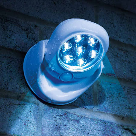 2017新款 Light angel LED智能人體感應燈 360度 防盜 車庫 玄關 旋轉 室內 戶外 兩用 夜燈
