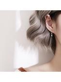 新款上架 幾何耳環銀簡約氣質方塊小巧精致耳墜韓國個性百搭潮人短發耳飾女