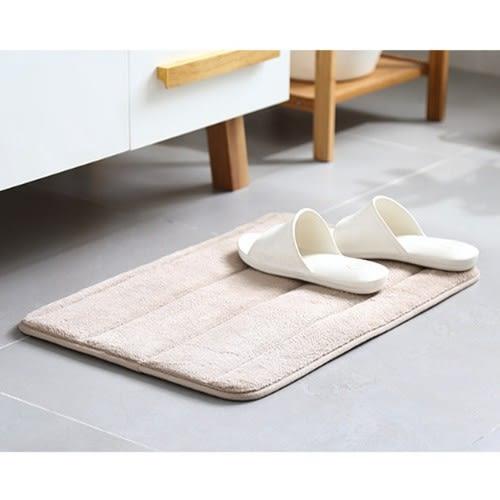 防滑地毯 加厚珊瑚絨地毯 地墊 浴室廚房臥室腳踏墊 吸水地墊 條紋 遊戲墊【A051】