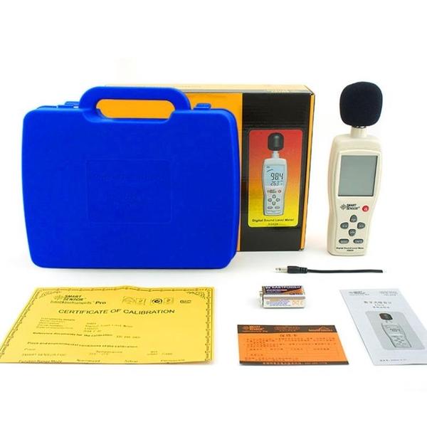 分貝儀 希瑪噪音計檢測儀分貝儀噪聲測試儀高精度噪音儀聲級計噪聲測試儀 宜品