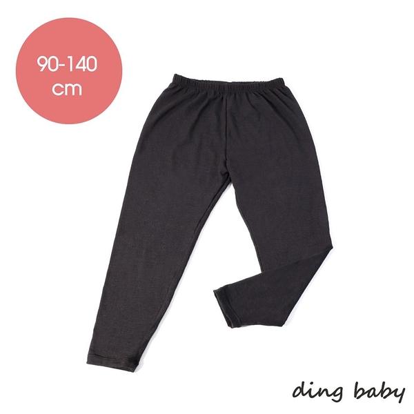 兒童發熱褲3入組-麻花黑(90-140cm) ding baby 小丁婦幼自有品牌