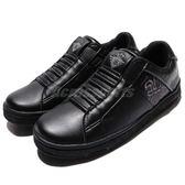Royal Elastics 休閒鞋 Icon Alpha 黑 灰 無鞋帶設計 皮革鞋面 女鞋【PUMP306】 92073998