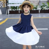 女童洋裝-女童裙子夏季洋氣兒童洋裝中大童小女孩公主裙夏裝新款韓版 現貨快出