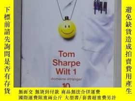 二手書博民逛書店法語原版罕見Wilt 1 de Tom SHARPE 著Y140