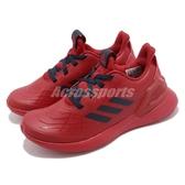adidas 慢跑鞋 RapidaRun K Spider-Man 紅 深藍 蜘蛛人 童鞋 運動鞋 【PUMP306】 G27557