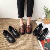 牛津鞋 小皮鞋女2019夏季新款復古女鞋學生百搭英倫風單鞋子平底鞋潮IP1640【棉花糖伊人】