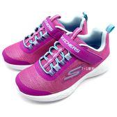 《7+1童鞋》中童 SKECHERS 82008LPKMT 輕量 透氣網布 亮片 運動鞋 慢跑鞋 B979 粉色