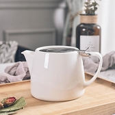 茶壺 陶瓷帶蓋泡茶壺 大容量耐高溫花茶養生壺濾網 高檔家用涼水冷水壺