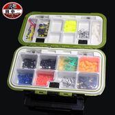 防水配件盒小路亞盒 工具盒儲物盒魚鉤收納盒垂釣用品igo k-shoes