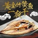 【愛上新鮮】黃金竹筴魚一夜干3包(2隻/包)
