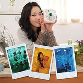 富士Instax Mini 7S/25/50S專用 四種顏色濾鏡 變換鏡