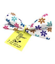 美國Baby Paper寶寶響紙安撫方巾 繽紛小花005769
