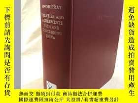 二手書博民逛書店Treaties罕見and Agreements With an