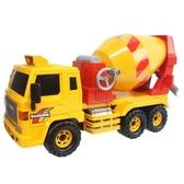 韓版 摩輪水泥車 DS-708(黃紅)/一台入(促700) 摩輪混泥土車 ST安全玩具-生