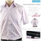 【大盤大】FINE CLOTH SHIRT 薄襯衫 S號 條紋襯衫 百貨專櫃 shirt 商務 男裝 夏 時尚送禮