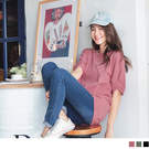 《AB7470》台灣製造.高含棉純色造型袖寬鬆上衣--適 XL~5L OrangeBear