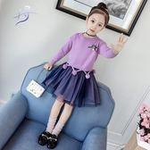 3公主裙4女童毛衣裙套裝5秋冬6寶寶8洋氣時尚9蓬蓬10歲毛衣兩件套Mandyc