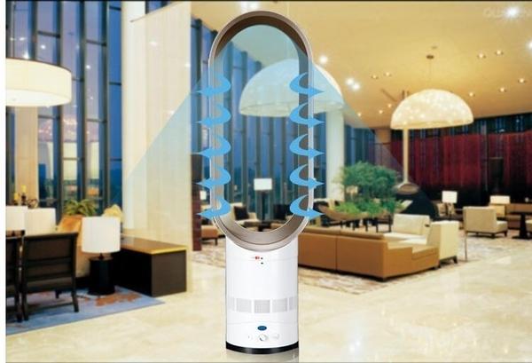 現貨快發  110V德國無葉風扇電風扇空氣循環家用省電風扇 QM 藍嵐