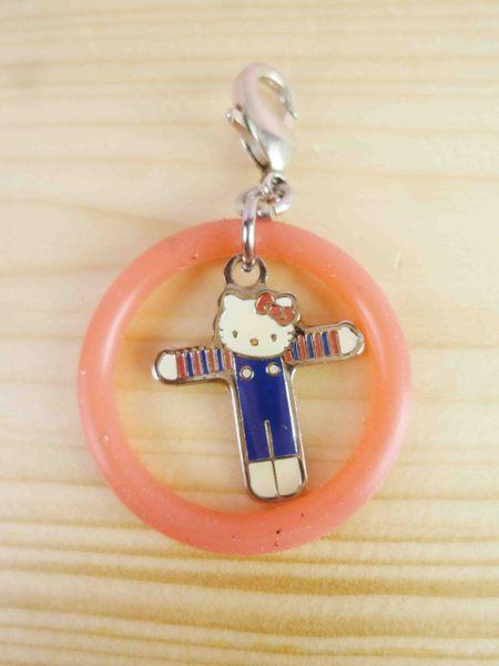 【震撼精品百貨】Hello Kitty 凱蒂貓~KITTY吊飾拉扣-英文字母T