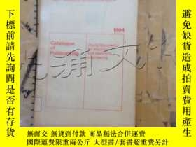 二手書博民逛書店Catalogue罕見of PublicationsY25240