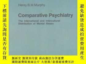 二手書博民逛書店Comparative罕見Psychiatry(英文原版) 58