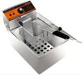 電炸鍋 電炸爐匯利單缸油炸鍋加厚商用電炸爐單缸商用加厚電炸鍋電炸爐 韓菲兒