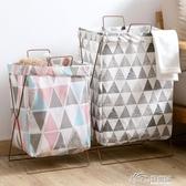 可折疊臟衣籃臟衣簍收納籃家用布藝臟衣婁收納桶浴室臟衣服收納筐 好樂匯