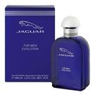 Jaguar Evolution 藍色經典男性淡香水 100ml 外盒壓傷