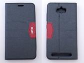 gamax完美系列 ASUS ZenFone Max(ZC550KL) 簡約綴色側翻手機保護皮套 磁吸插卡側立 內TPU軟殼全包