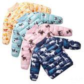 羽絨外套 反季兒童棉衣男童女童寶寶羽絨棉服冬裝小童嬰兒內膽棉襖童裝外套