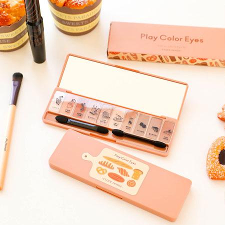 韓國 ETUDE HOUSE 香醇烘焙麵包屋眼彩盤 0.8*10 10色眼影盤 十色眼影盤 眼影盤 眼影 眼影盤