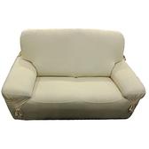 寧彩涼感彈性一人沙發便利套-黃