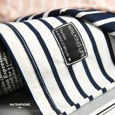 夏裝短袖T恤男夏季韓版修身條紋圓領學生男士打底衫潮流衣服 【korea時尚記】