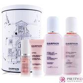 Darphin 朵法 全效舒緩美肌保養組-公司貨[化妝水+潔膚乳+舒緩精華+舒緩調理霜+收納罐]【美麗購】